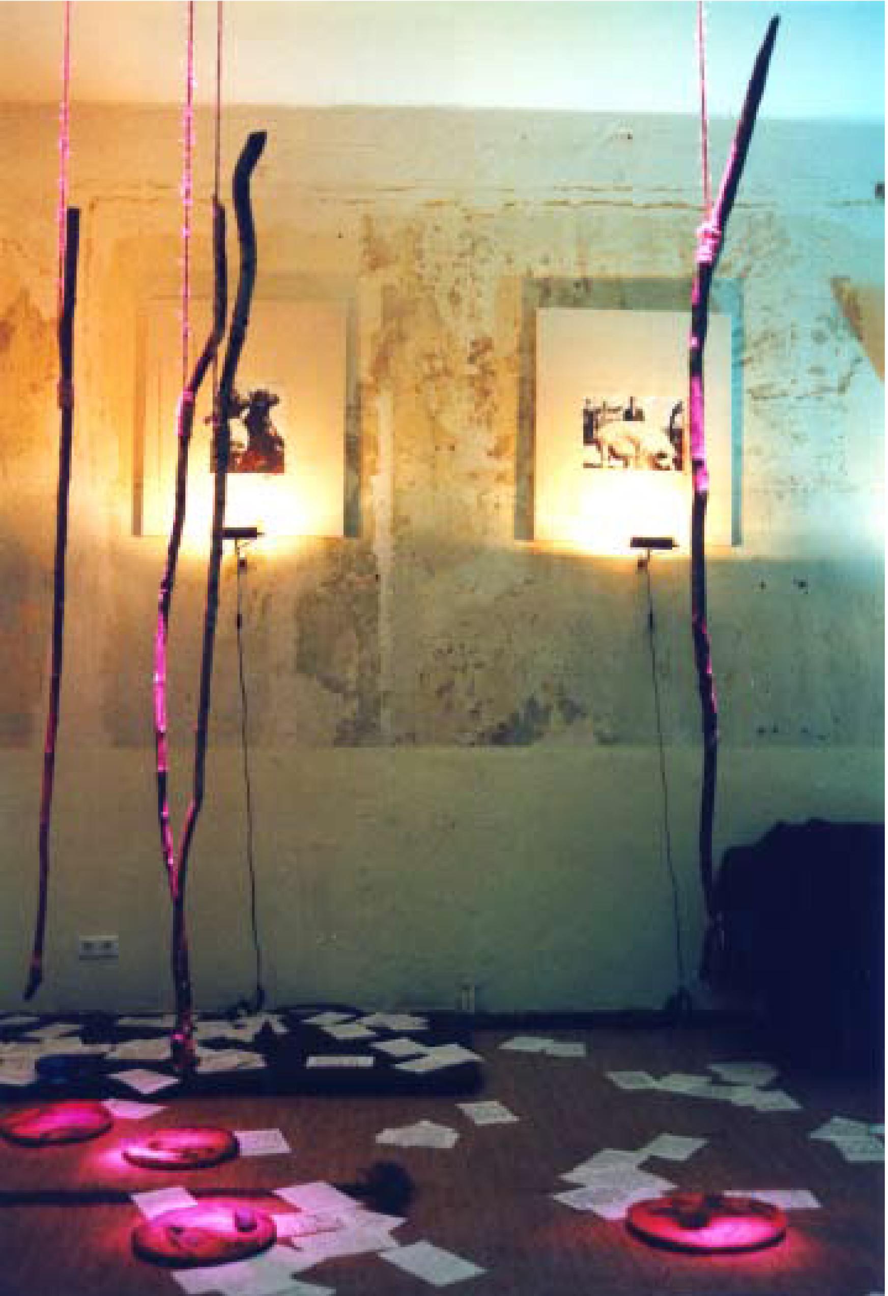 ausstellung MACHT-TIER-MENSCH, berlin, galerie engler und piper, 2000
